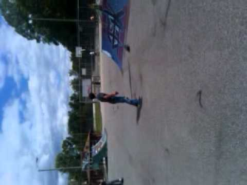 Chris Kirby skatepark in Hurricane W.V