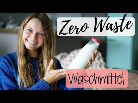 Waschmittel selber machen   ZERO WASTE   Lilies Diary