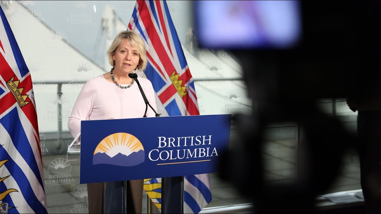 Dr. Bonnie Henry, B.C.'s provincial health officer and Adrian Dix, Minister of Health, have issued the following statement regarding updates on the COVID-19 response in British Columbia: