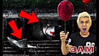 IT MOVIE PENNYWISE BROKE INTO MY HOUSE FROM THE SEWER AT 3AM!! *OMG SO SCARY*