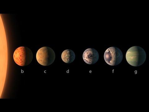 Vědci objevili unikátní soustavu planet, které jsou obyvatelné a nachází se kousek od Země
