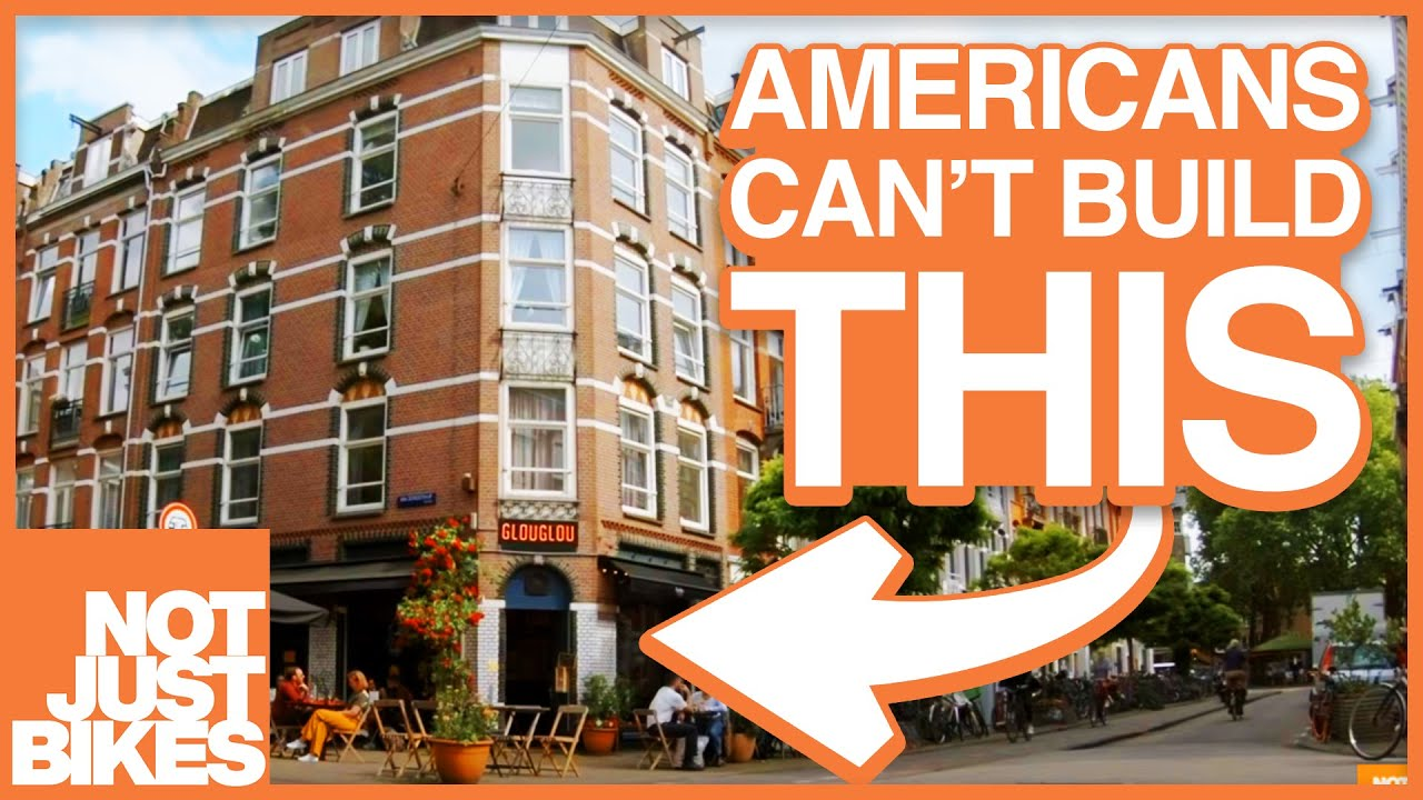 Not Just Bikes video - The Lively & Liveable Neighbourhoods that are Illegal in Most of North America