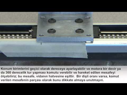 AKD Units Setup - Screw Mechanism