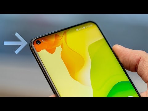 The first smartphone with hole-punch display – Honor View 20
