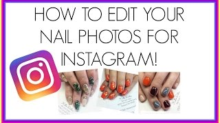 Tarlese rideaux how to watermark your instagram photos insta how to edit nail photos for instagram how to add a watermark ccuart Image collections