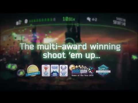 Resogun oznámen pro PlayStation 3 a PlayStation Vita