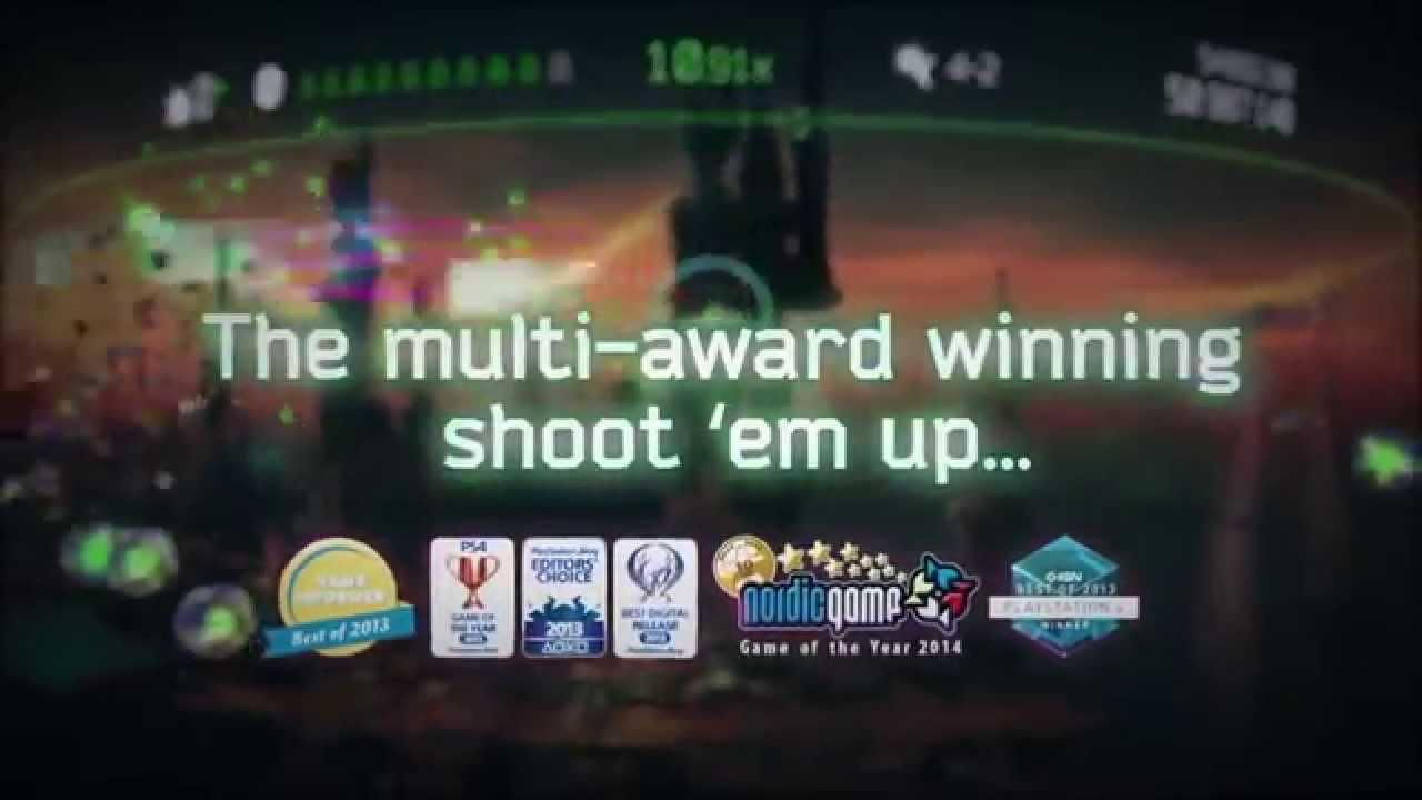 RESOGUN esplode su PS Vita e PS3 questo mese