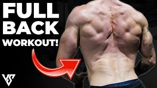 Full Back Workout Using Only Dumbbells