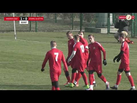 Bramka na 2:0 w meczu Widzew Łódź - Stomil Olsztyn