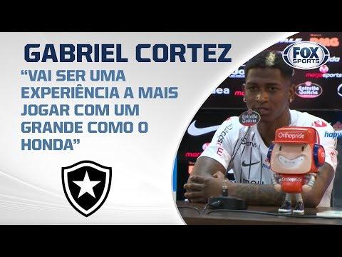 BOTAFOGO APRESENTA GABRIEL CORTEZ! Veja entrevista ao vivo no Alvinegro