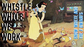WHISTLE WHILE YOU WORK - SNOW WHITE AND THE 7 DWARFS - GYMNASTICS FLOOR MUSIC 🍎