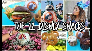 Top 12 Disney World Snacks, Sweets, & Treats! | Belinda Selene