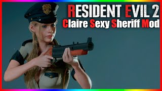 Resident Evil 2 Claire Sexy Sheriff Mod