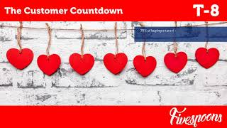 The Customer Countdown | T-8