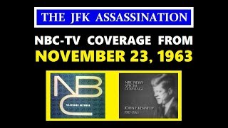 NBC-TV COVERAGE FROM SATURDAY, NOVEMBER 23, 1963 (STARTING AT 9:45 AM EST)