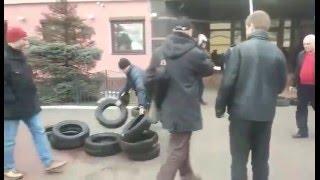Пікет Правого сектору біля обласної прокуратури в Полтаві