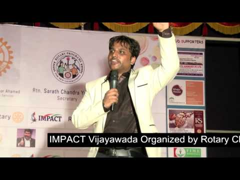 How To Get Money |Sai Satish| TELUGU IMPACT Vijayawada 2014