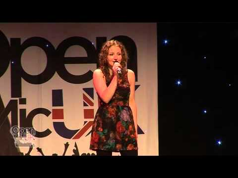 Lauren Simpson - Hate You I Don't/Love It When You Call by The Feeling - Open Mic UK 2010