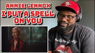 Annie Lennox - I Put A Spell On You | REACTION