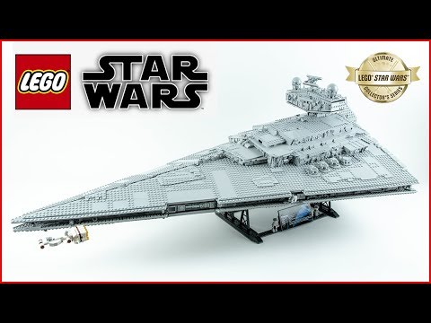 Vidéo LEGO Star Wars 75252 : Imperial Star Destroyer UCS