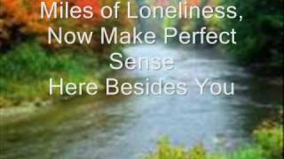 i know how the river feels (with lyrics)