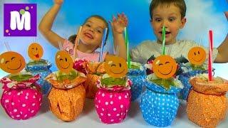 Дринк Челлендж угадываем напитки что мы пьем и игрушки