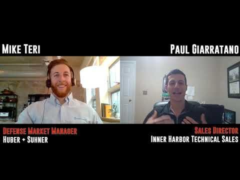 Rep Talk: Mike Teri, Huber + Suhner