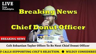 Chief Donut Officer - #CST4CDO
