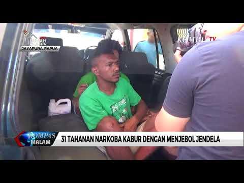 31 Tahanan Narkoba Lapas Doyo Baru, Jayapura Kabur