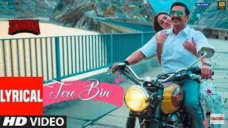 Tere Bin Lyrics With English Translation - Simmba   - YouTube