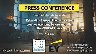 Studie von EY und GESAC zur Power der Kulturwirtschaft als wichtiger Faktor für Weg aus der Corona-Krise
