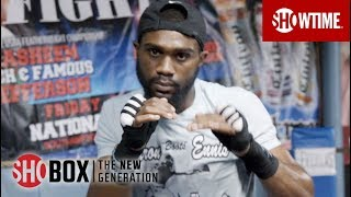 DAY IN CAMP: Jaron Ennis   Nov. 16 on SHOWTIME   SHOBOX: THE NEW GENERATION
