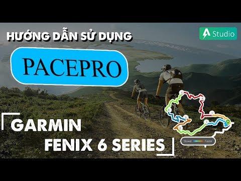 Hướng dẫn sử dụng tính năng PacePro trên Garmin