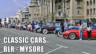 LAMBORGHINI at Classic Car Rally? INDIA - Bangalore 2018 - Vlog