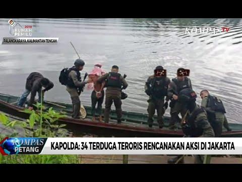 Kapolda: 34 Terduga Teroris Rencanakan Aksi di Jakarta