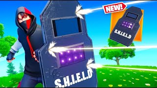 Epic added SHIELDS to Fortnite (very OP)