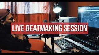 MAKING A BEAT LIVE ! Full Hip Hop producing with FL Studio 12 | Chuki Beats