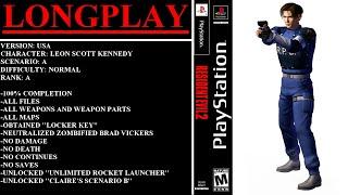 Resident Evil 2 (PlayStation) - (Longplay - Leon Scott Kennedy | Scenario A | Normal Difficulty)