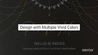 Xerox® Adaptive CMYK+ Kit: Designing for Vivid Toner Set YouTube Video