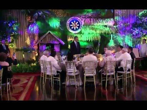 President Obama Speaks at the Philippines State Dinner