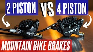 2 Piston vs 4 Piston MTB Brakes | Which is best for you?
