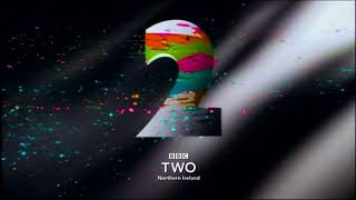 BBC Two Northern Ireland: Paint [Saturday Mashup] Ident -- 30th September 2017