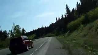 Fast! Drive from Anchorage to Homer: Alaska Route 1 Dashcam