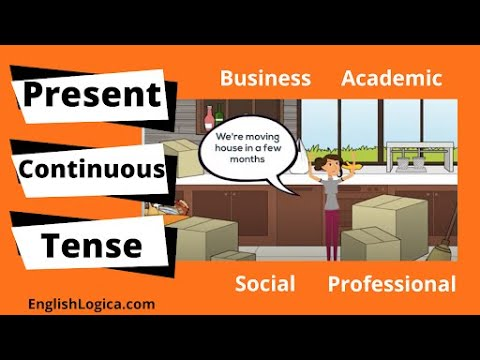 How to Use the Present Continuous