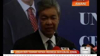 Jangan beri tekanan kepada Indonesia berhubung jerebu