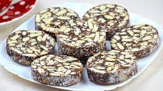 Salam de biscuiti / Biscuit Salami  (CC Eng Sub) | JamilaCuisine
