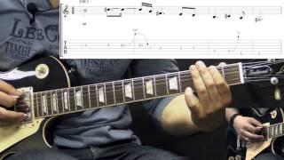 Danzig - Blood&Tears - Metal Guitar Lesson (w/Tabs)