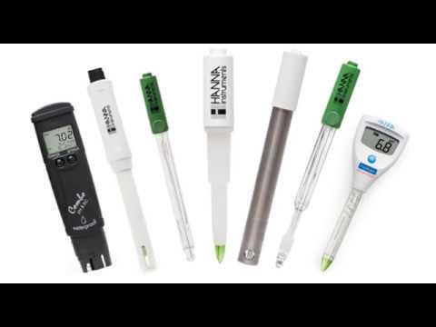 Tipos de Electrodos para pH