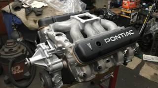 Pontiac 400 dyno test Ram Air manifolds cpmotorworks engine