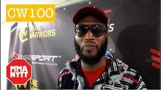 ALEX LOHORE POST FIGHT CAGE WARRIORS 100 INTERVIEW